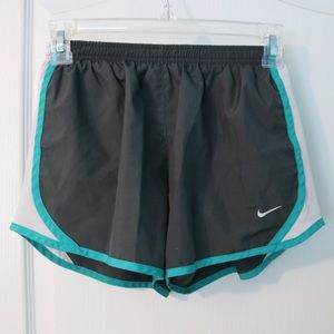 Blue and Grey Nike Running shorts